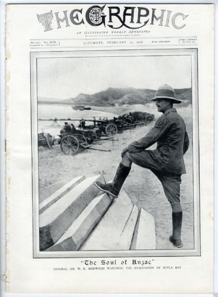 1916 THE GRAPHIC Newspaper WW1 STEPHEN KING INCIDENT Zeppelin GALLIPOLI (1142)